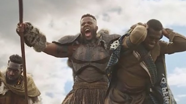 The 31-year-old played M'Baku and Jesus Christ, I AM IN LOVE.