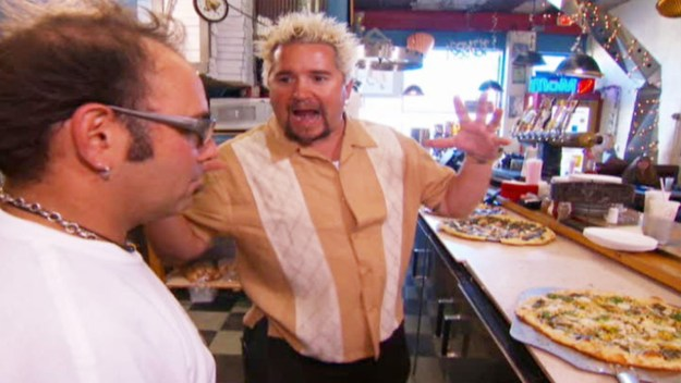 Guy Fieri's real name is actually Guy Ferry.