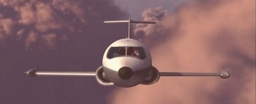 This jet? It looks modern to me — though I admit my aerospace engineering knowledge is extremely limited.