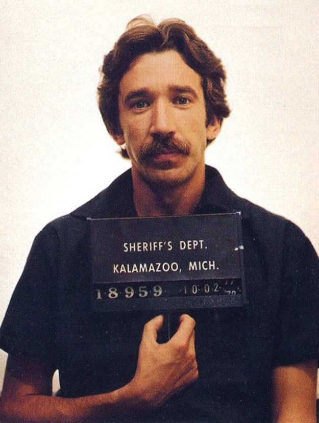 Tim Allen was arrested at an airport in Michigan in 1978 for the possession of nearly 1.5 pounds of cocaine.