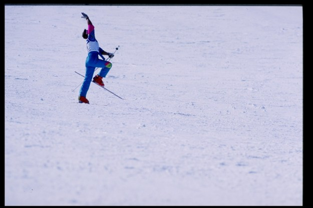 Picture it: A sport that combines all the beauty and grace of ballet with, uh, skiing.