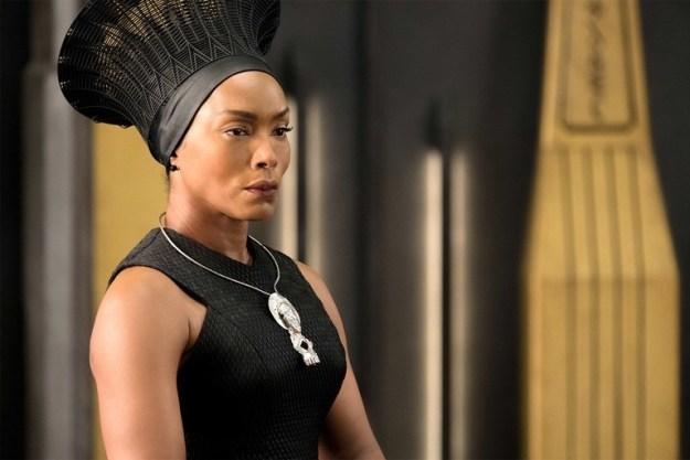 And last, but certainly not least, Angela Bassett's character Ramonda, the Queen of Wakanda.