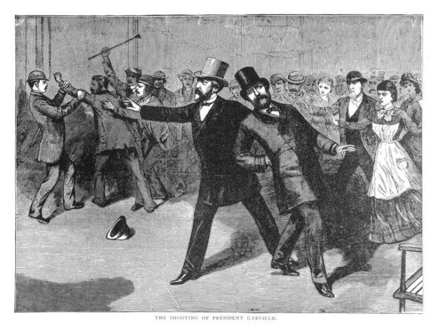 When President James A. Garfield was shot on July 2, 1881, doctors believed the bullet had penetrated his intestines. As a result, they insisted the president be fed rectally. The president consumed a variety of food items including beef bouillon, egg yolks, milk, whiskey, and drops of opium, all through his rectum. This unhealthy diet, along with unsanitary medical practices, led to the president's death on Sept. 19, 1881.