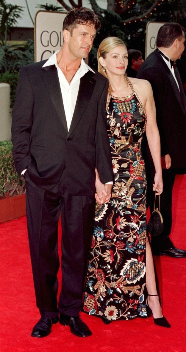 Julia Roberts and Rupert Everett at the Golden Globes: