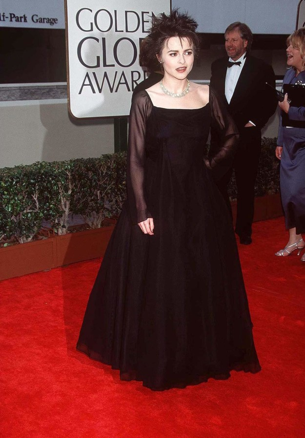 Helena Bonham Carter at the Golden Globes:
