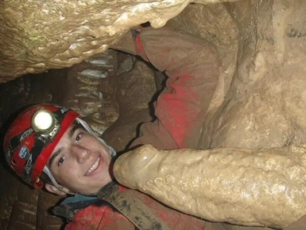 Technically, this is a stalagmite, not some kind of cave boner.