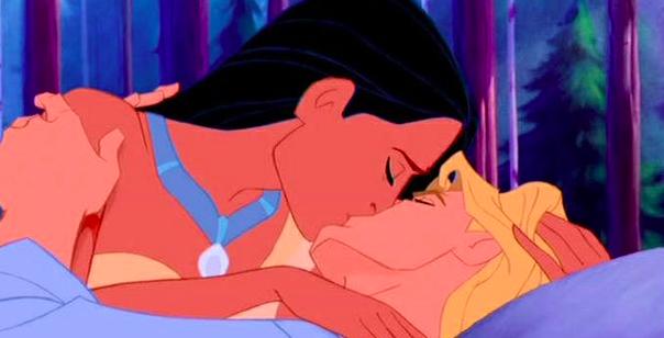 Pocahontas and John Smith (Pocahontas)