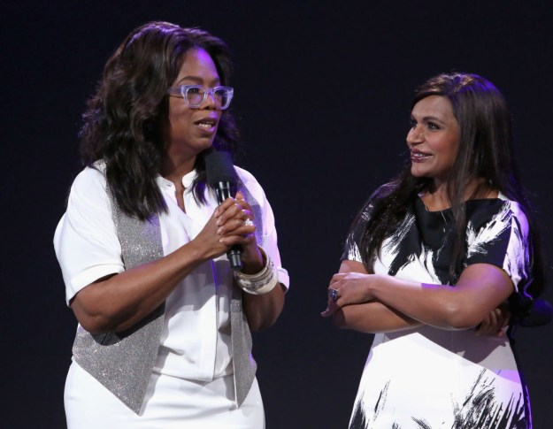 But for some fortunate people, they can actually call Oprah a friend, and one of those lucky people is her A Wrinkle in Time costar Mindy Kaling.