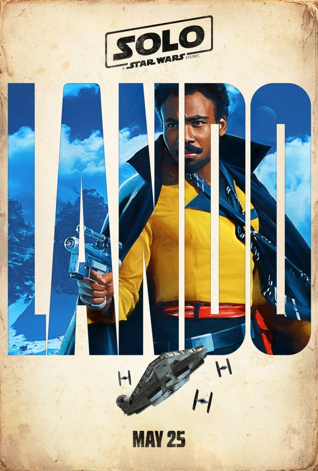 And finally, love of our lives, Lando Calrissian:
