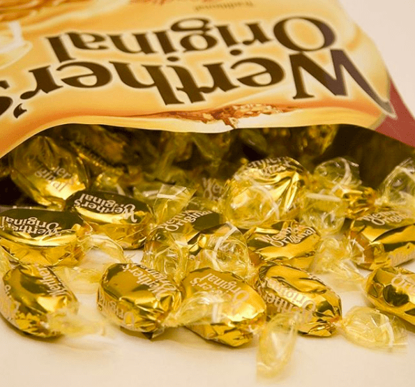 And you can't forget about THE classic elderly candy of choice — Werther's Originals.