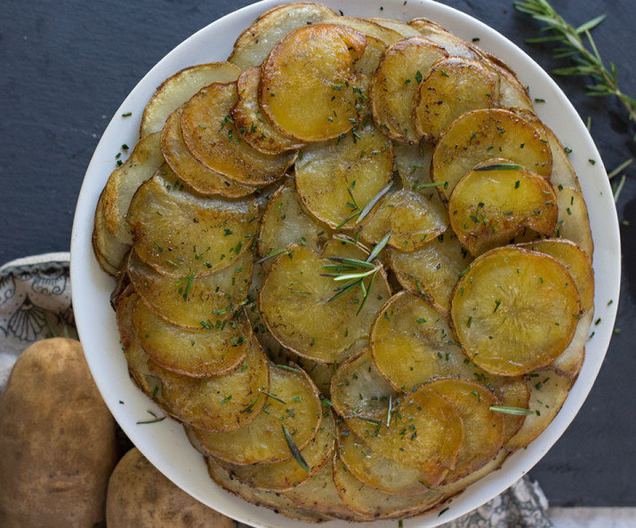 This pretty-looking potato dish is both gluten-free and vegan. Get the recipe here.