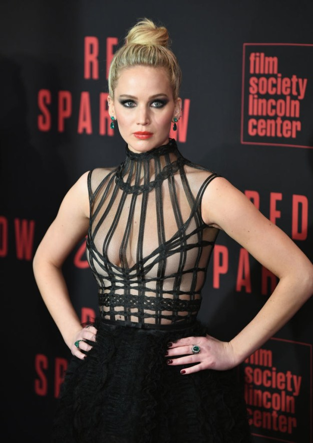 With the upcoming release of her new movie, Red Sparrow, you could say that Jennifer Lawrence has been very busy lately.