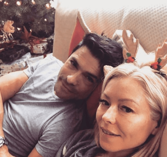 Ok, so you know Kelly Ripa and her husband Mark Consuelos. They are the best couple on this planet. Sorry, I don't make the rules.