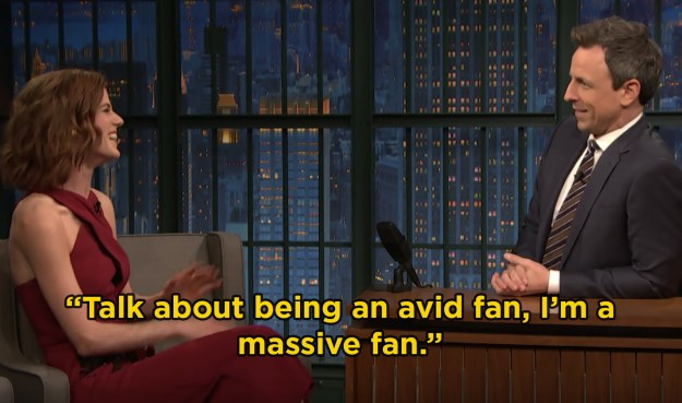 Well, even though she isn't on GoT anymore, Rose recently told Seth Meyers that she's still a massive fan of the series.
