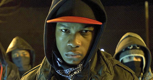 When he looked fierce AF in Attack the Block: