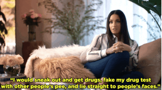 Demi's also known for being incredibly open and honest about her struggles with alcohol, drugs, and bulimia.