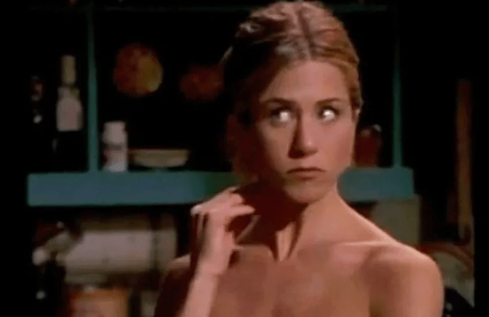 When Ross saw Rachel walking around the house naked. He immediately thought she was trying to have sex with him when really she just wanted to be naked in her own home. There was no communication between the two, but because Ross believes that he's so entitled as a man, he saw her nudity as a plea to have sex.– sarahp46a9a4444