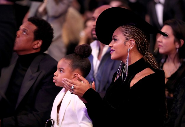 Blue Ivy Carter: Daughter of Jay-Z and Beyoncé, and apparently a world-renowned art collector.