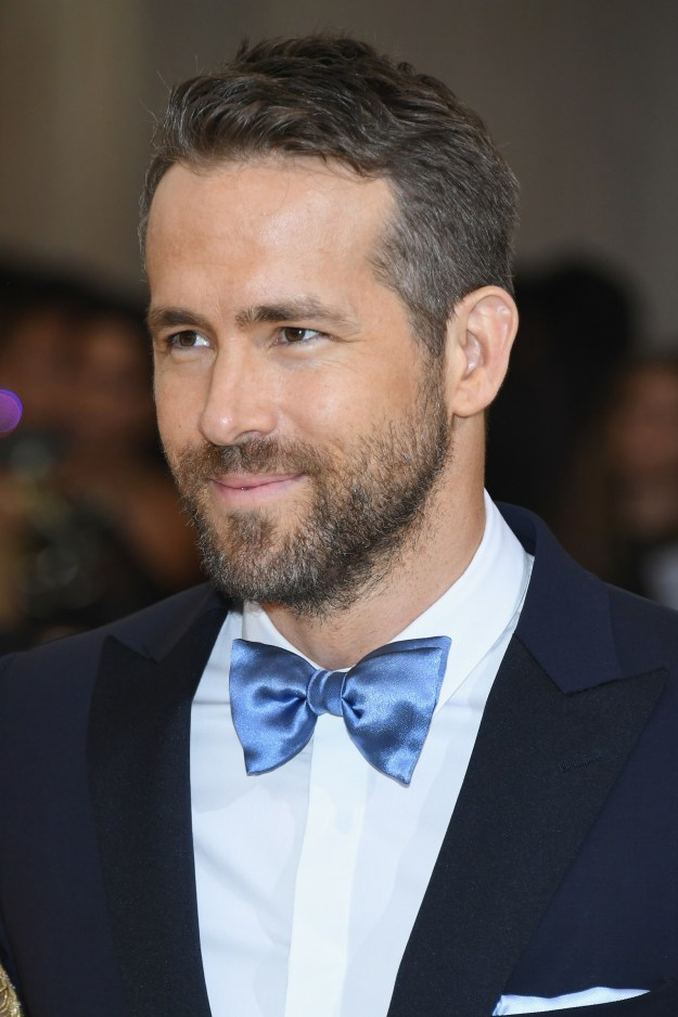 In case you forgot his face, this is Ryan Reynolds. This'll be important in just a sec!