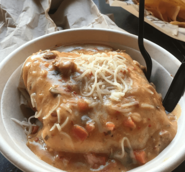 Colorado – Smothered Burrito from Illegal Pete's