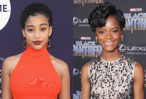 But in order to put a great cast together, they must go through an audition process. And it turns out, there was another talented actress up for the role of Shuri (played brilliantly by Letitia Wright in the film): Amandla Stenberg.
