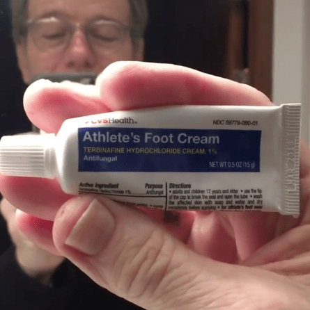 Because the toothpaste was actually FOOT CREAM!!! Noooooooooo. 😱