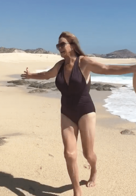 Malibu resident Caitlyn Jenner is no stranger to the beach.