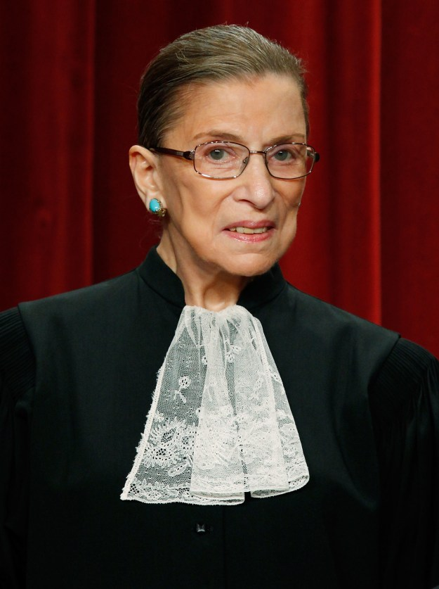 So, on top of being an icon, 84-year-old Supreme Court Justice Ruth Bader Ginsburg is in better shape than most of us.