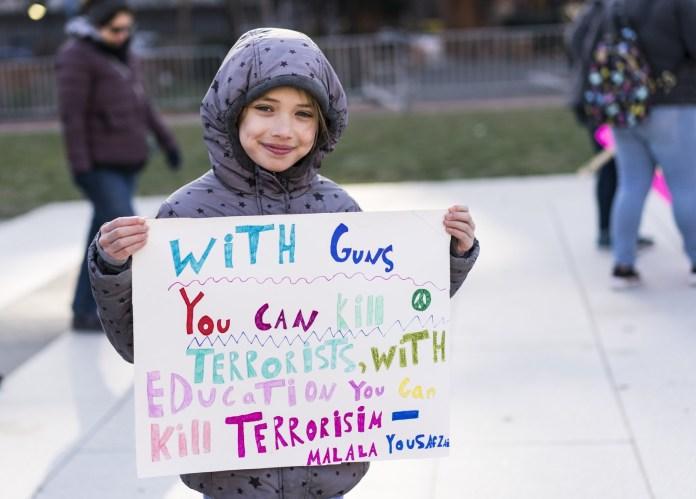 Emma Weill-Jones, 9, in Philadelphia.