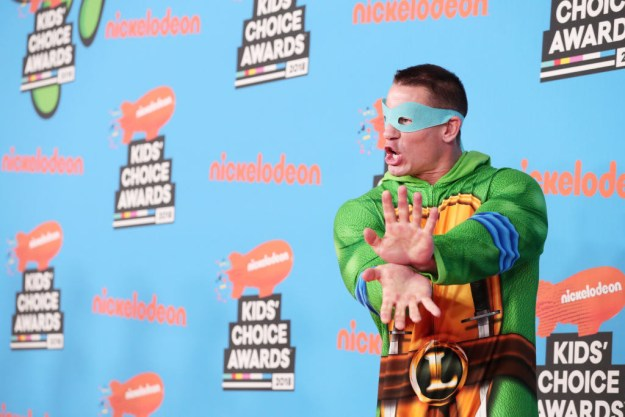 But before all of that, John Cena took to the red carpet in a TMNT pajama jumper, and I find the whole thing meme-able.