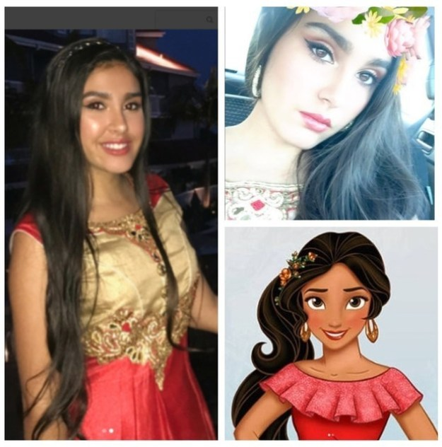 This girl, who could be Elena of Avalor's twin: