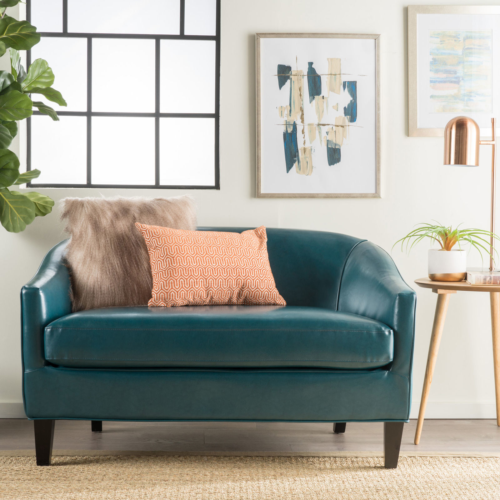 buchannan faux leather sectional sofa with reversible chaise chestnut pull out 29 of the best places to buy a couch online
