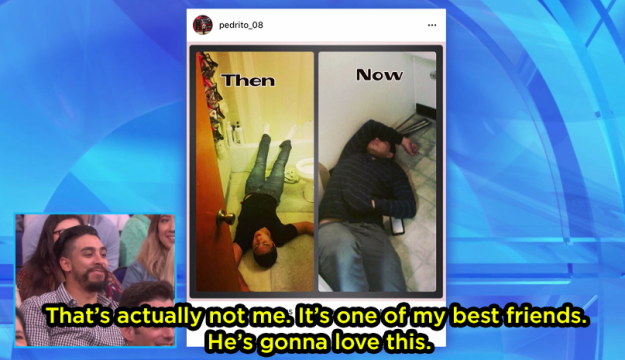 "Ellen said, ""You seem to enjoy sleeping on a bathroom floor."" Turns out, it wasn't him."