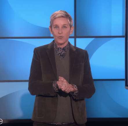 """And by the way, don't feel too bad for these audience members. Ellen got them 65"""" TVs."""