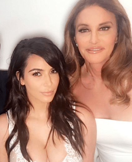 It's not clear whether Caitlyn approved the pic — or if she would even mind it in the first place. But considering how tense things have been between the two of them in the past...nobody quite knows what to make of it all.