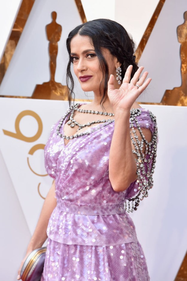 Thank you, Salma, for giving me some new fashion goals.