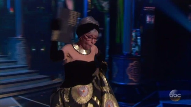 Rita Moreno almost fell while walking out to present: