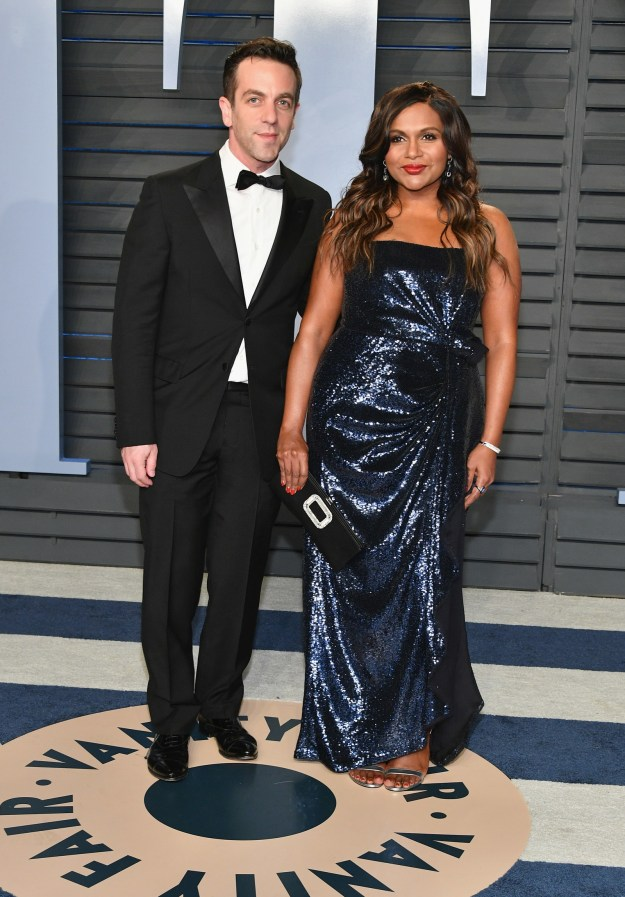 BJ Novak and Mindy Kaling