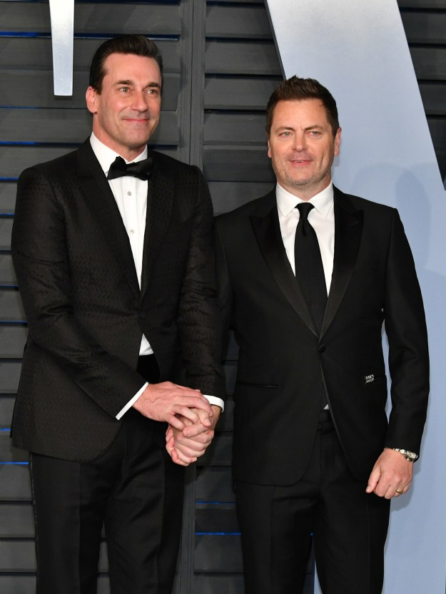 Jon Hamm and Nick Offerman