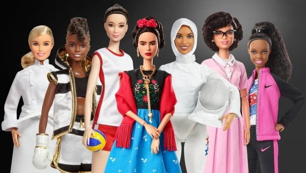 """Get ready to clap your hands in glee, because Mattel is releasing a line of Barbie dolls called """"Inspiring Women,"""" which features incredible women who made history across many fields of work."""