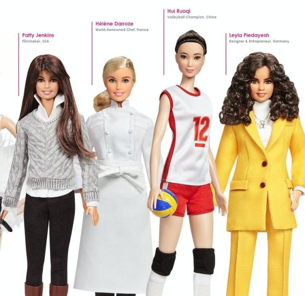 Each of these 14 historical Barbies will come with an informational packet containing a brief history about these influential women.
