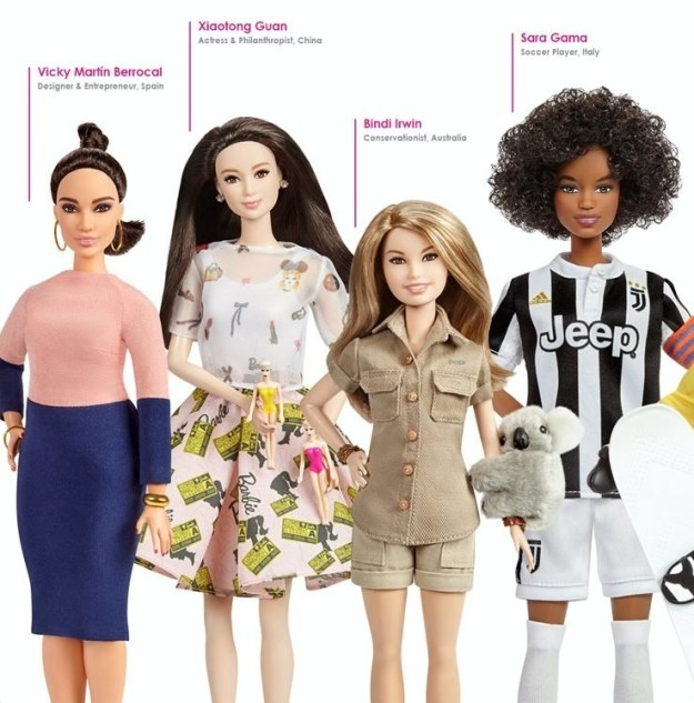 """Mattel also has plans to add to the """"Inspiring Women"""" series, adding more role models in the future."""