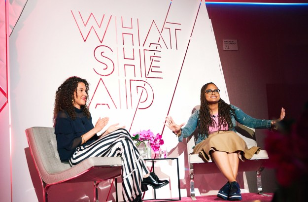 "During a ""What She Said"" event celebrating A Wrinkle In Time, femininity, and gender equality, which BuzzFeed attended, DuVernay talked about some of the important lessons she learned from her mother."