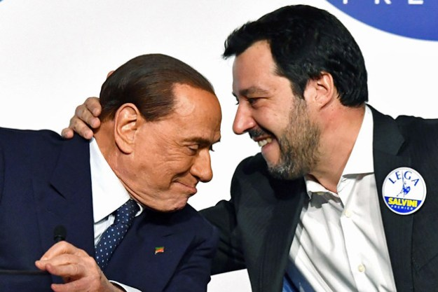 And while Salvini's Facebook-centric content was important, De Luca said it always felt like the anti-immigration leader, like Donald Trump in the US and Nigel Farage in the UK before him, was on TV.