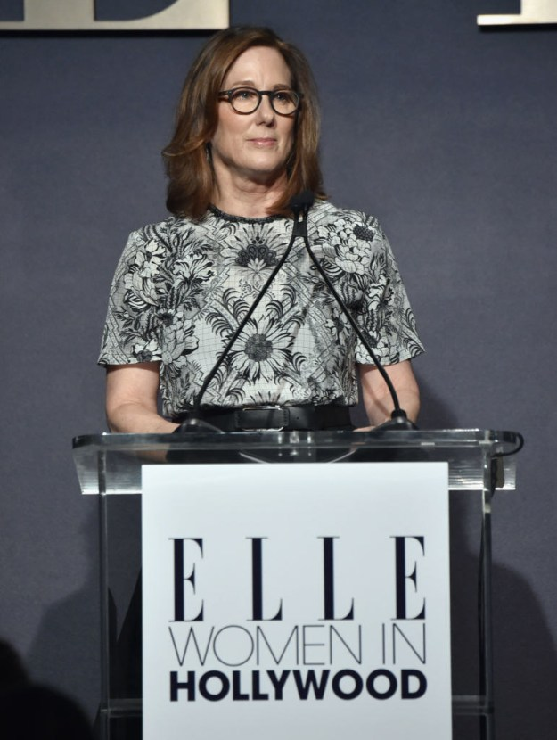 """And finally, Kathleen Kennedy has been called """"the most powerful woman in Hollywood."""""""