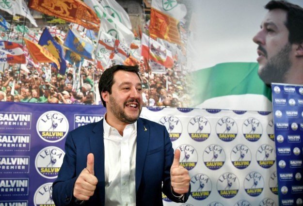 When Matteo Salvini faced the media in the wake of Monday's huge Italian election result, the anti-immigration leader had some special groups to thank.