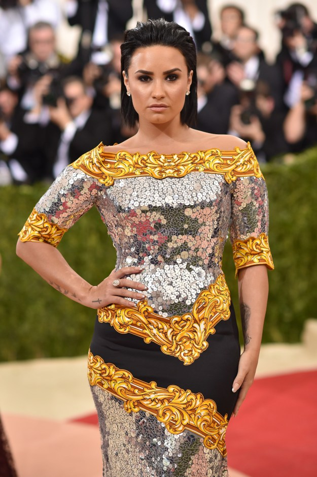 Diving right in! Demi opened up about an extremely negative experience she had at the 2016 Met Gala...