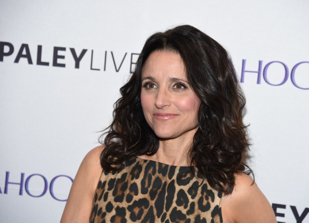 Julia Louis-Dreyfus' dad had a net worth of like... $3 billion.