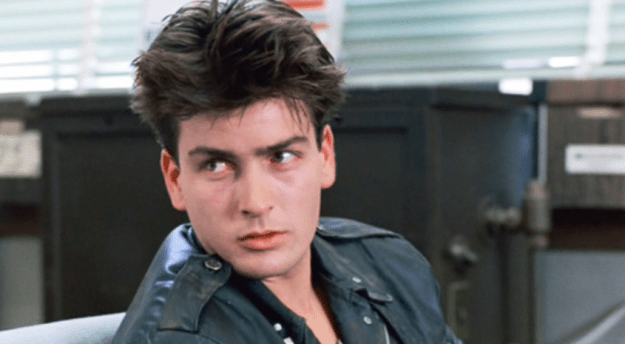"""For his role as a drug addict in Ferris Bueller's Day Off, Charlie Sheen stayed awake for 48 hours straight to achieve an """"authentic look."""""""