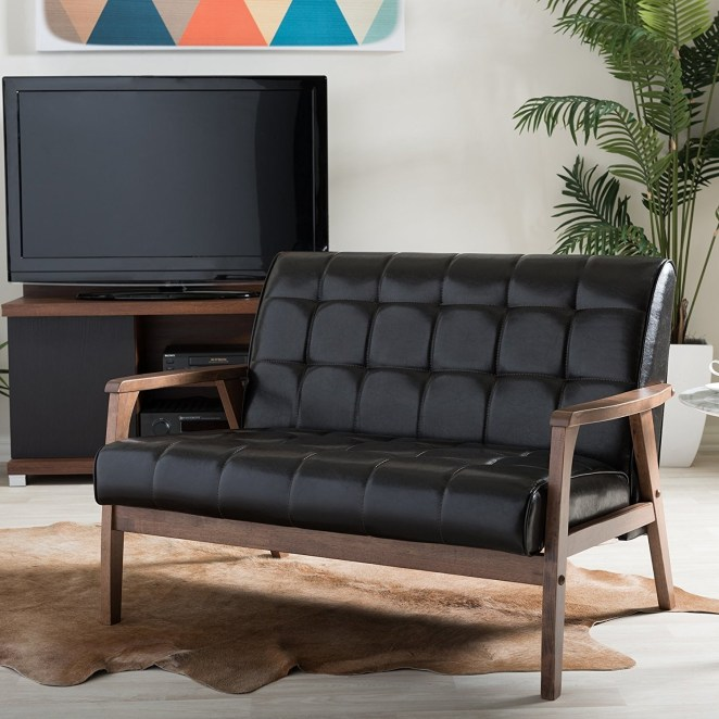 """Promising review: """"Very nice loveseat. Perfect for small areas which is why I bought it. Easy to put together."""" —PattiGet it from Amazon for $241.38 (originally $467.50)."""